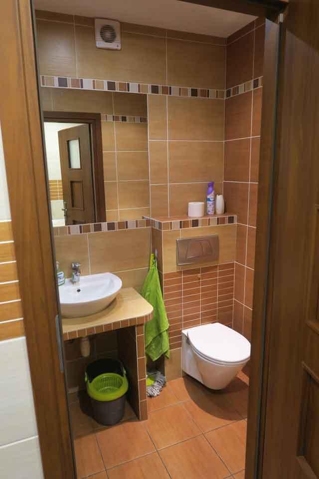 Łazienka dla klientów - sala szkoleniowa we Wrocławiu